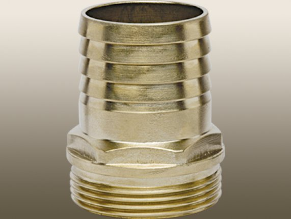 BRASS AIR HOSE BARB FITTING 13MM