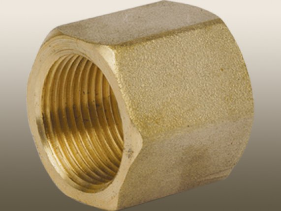 BRASS COUPLING FEMALE THREAD HEX ADAPTER FITTING