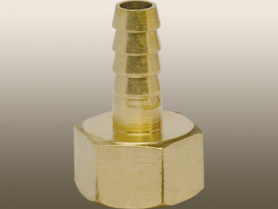 FEMALE THREAD TO AIR HOSE BARB BRASS STRAİGHT COUPLER