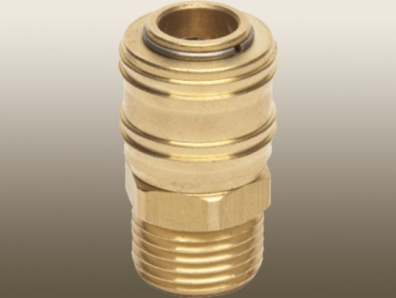 BRASS QUİCK - CONNECT FITTING