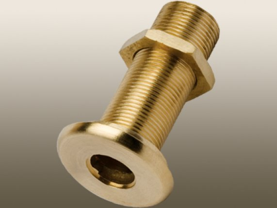 MARINE BOATS BRASS THRU-HULL OUTLET